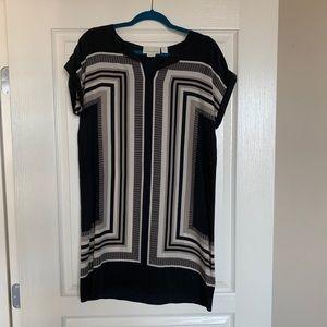 Cynthia Rowley silk shift dress